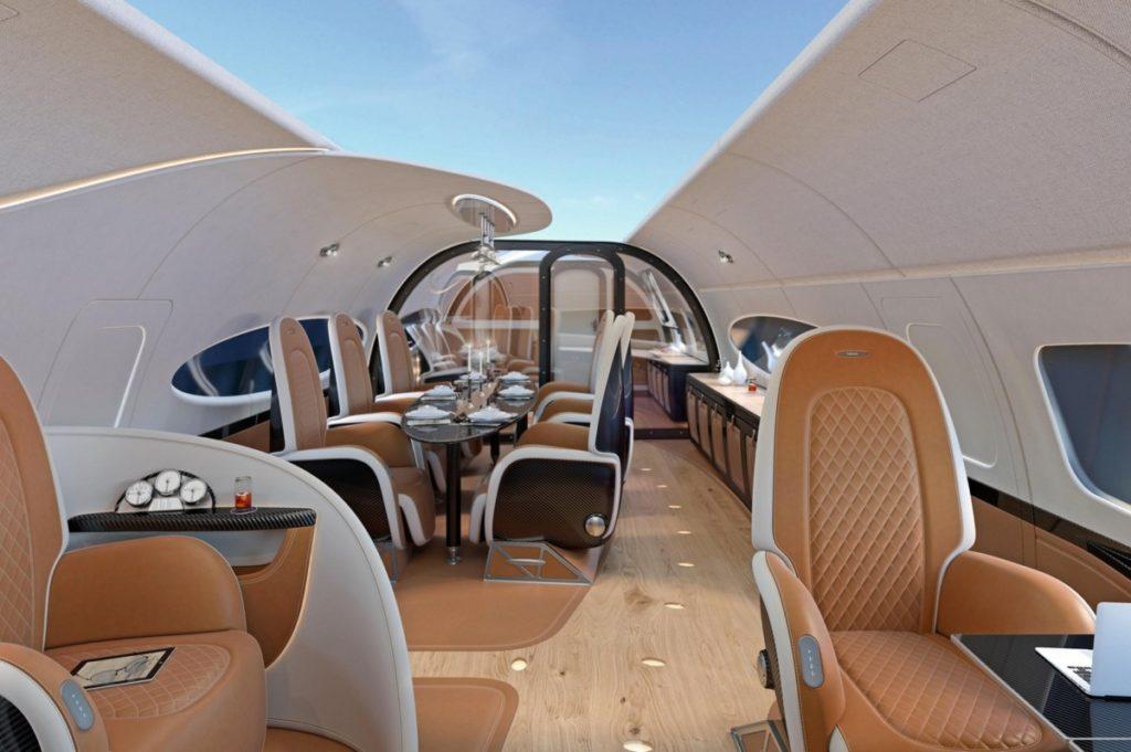 ACJ319neo Infinito cabin