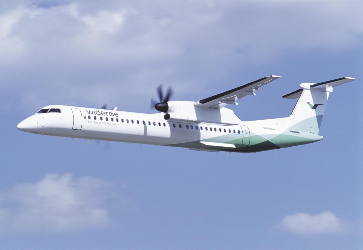 Widerøe Bombardier Dash 8-Q400