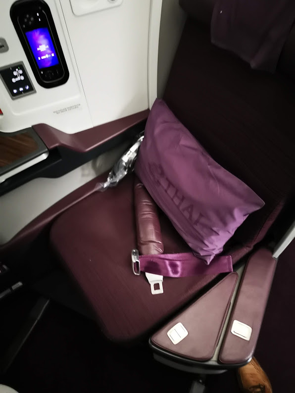 Thai Airways Business Class Boeing 787-9