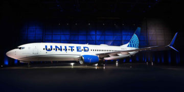 United Airlines Boeing 737-800 i nytt design