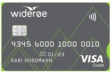 Widerøe-kortet fra Monobank