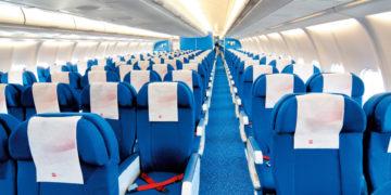 KLM Airbus 330-200 økonomiklasse setevalg
