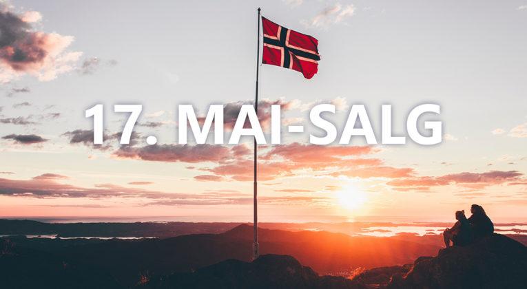Norwegian 17. mai-salg