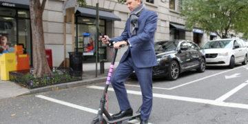 Elektrisk sparkesykkel el-scooter
