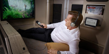 Asiana First Class som nå omprofileres til Business Suite