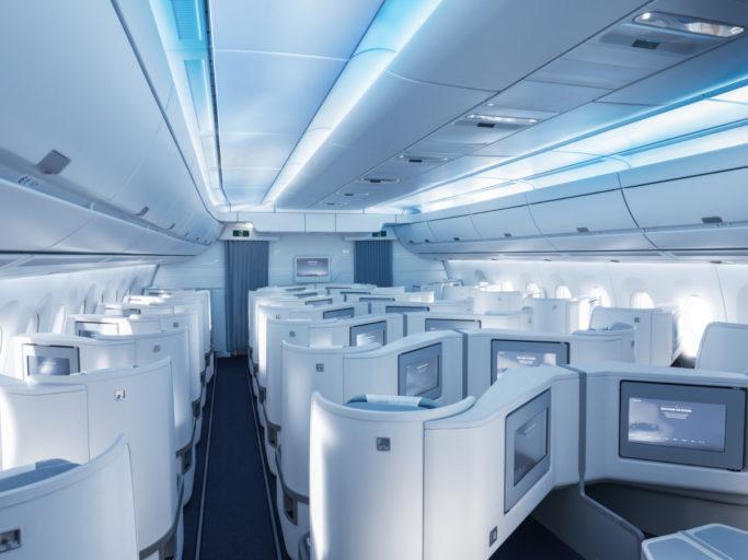 Finnair Airbus A350 business class
