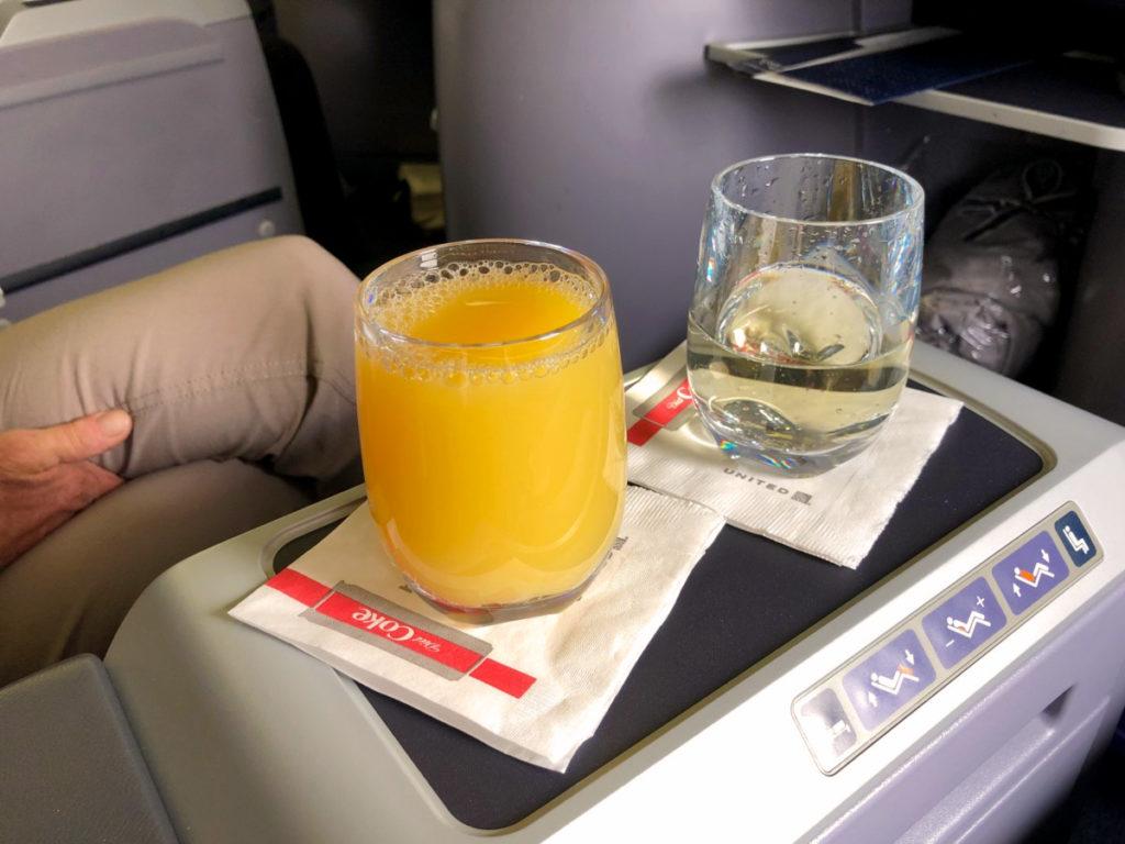 Appelsinjuice og Champagne