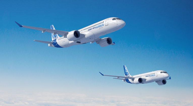 Airbus A220-familien