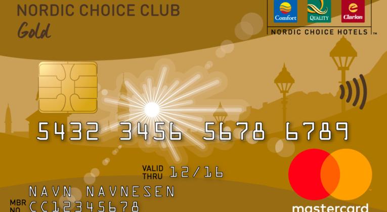 Nordic Choice Club Gold MasterCard