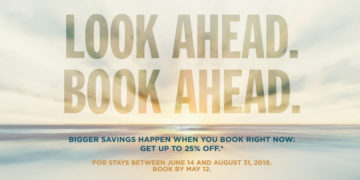 Look Ahead. Book Ahead. Kampanje fra Radisson med 25% rabatt