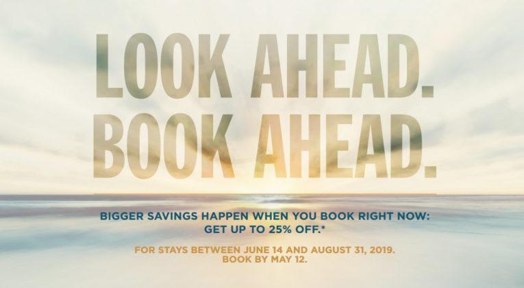 Look Ahead. Book Ahead. Kampanje fra Radisson med 25% rabatt