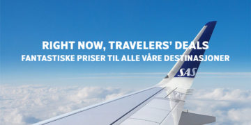 SAS Travelers deals kampanje mai 2019