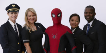 United Airlines Spider-Man sikkerhetsvideo