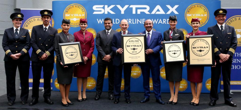 Verdens beste flyselskap Qatar Airways
