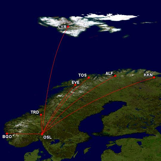 SAS Now or Never tilbud i Norge