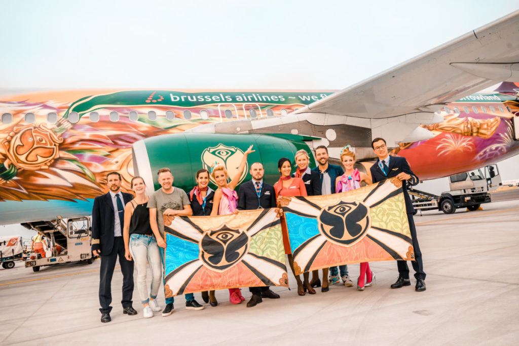 Brussels Airlines Amare Tomorrowland-fly