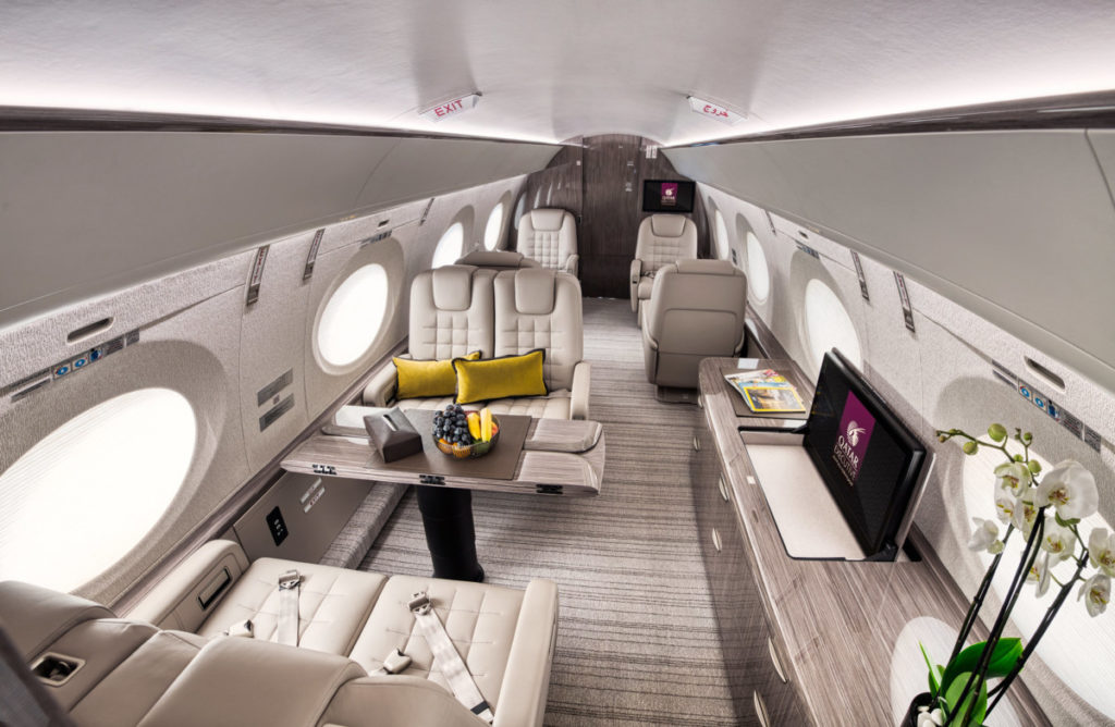 Gulfstream interiør