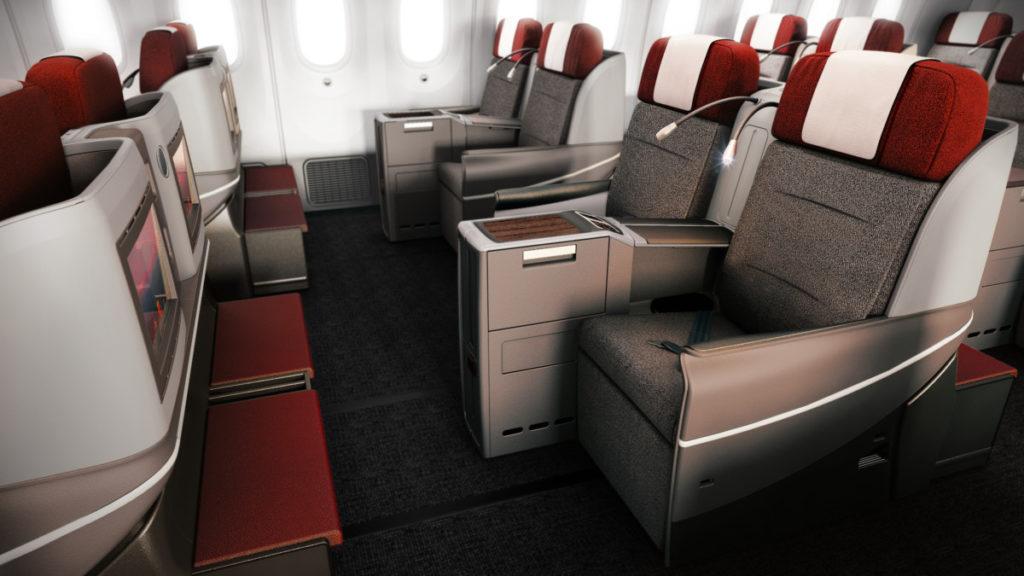 LATAM Business Class Boeing 787-9 Dreamliner
