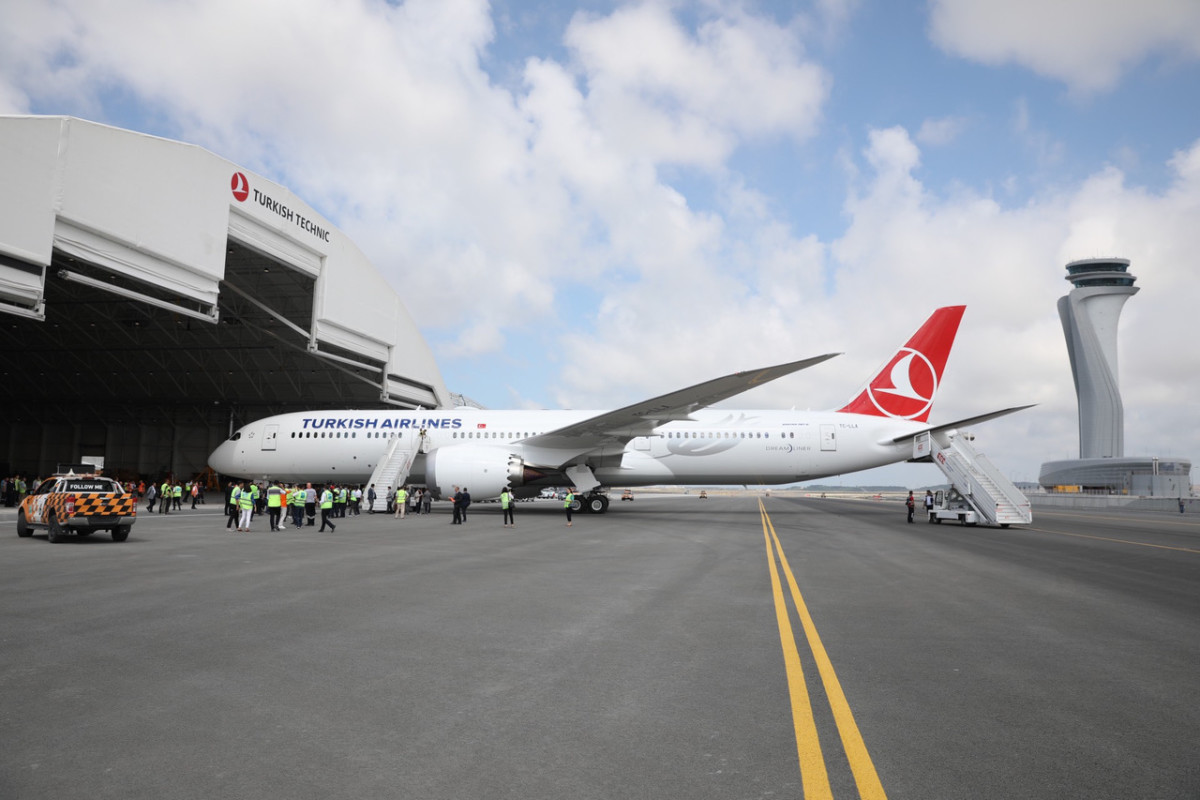 Turkish Airlines Boeing 787-9 Dreamliner Istanbul