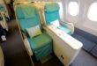 Korean Air Business Class Airbus A330 sete