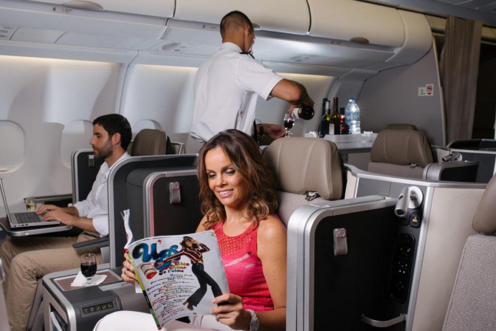 TAP Air Portugal Airbus A330 business class