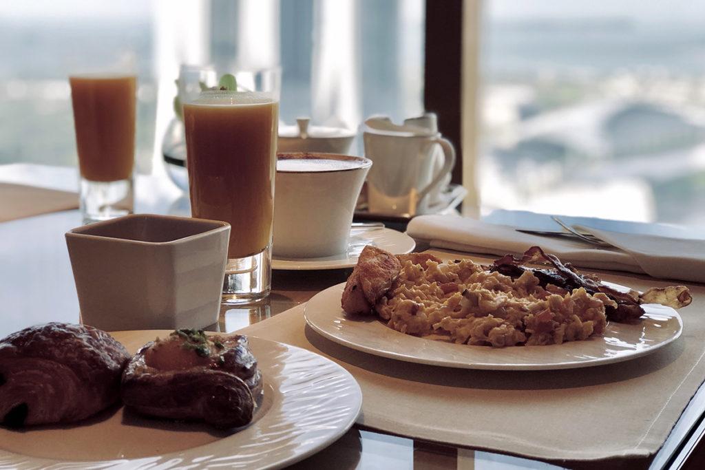 Ritz-Carlton Club frokost