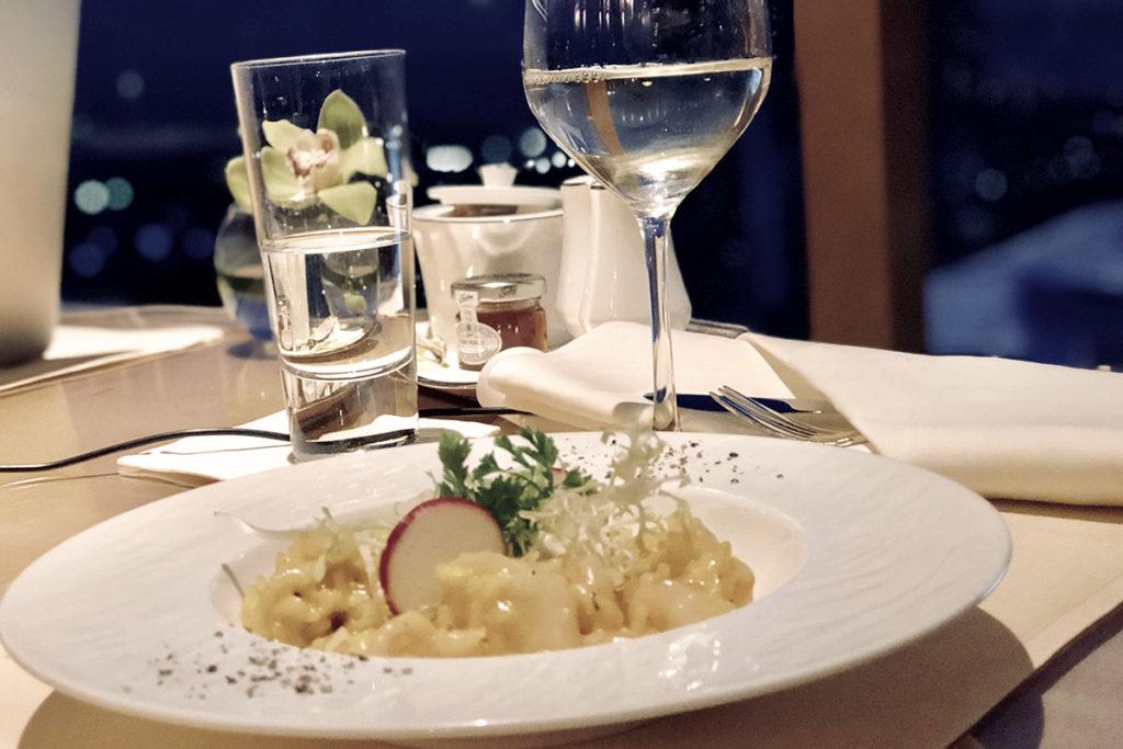 Ritz-Carlton Club mat og drikke