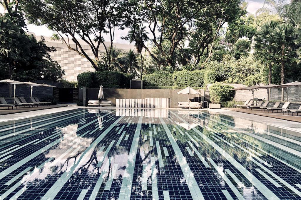 Spa og svømmebasseng