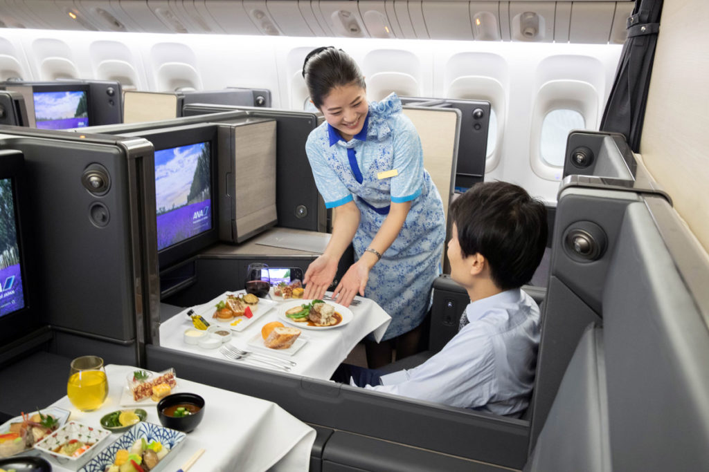 ANA Boeing 777-300ER The Room Business Class