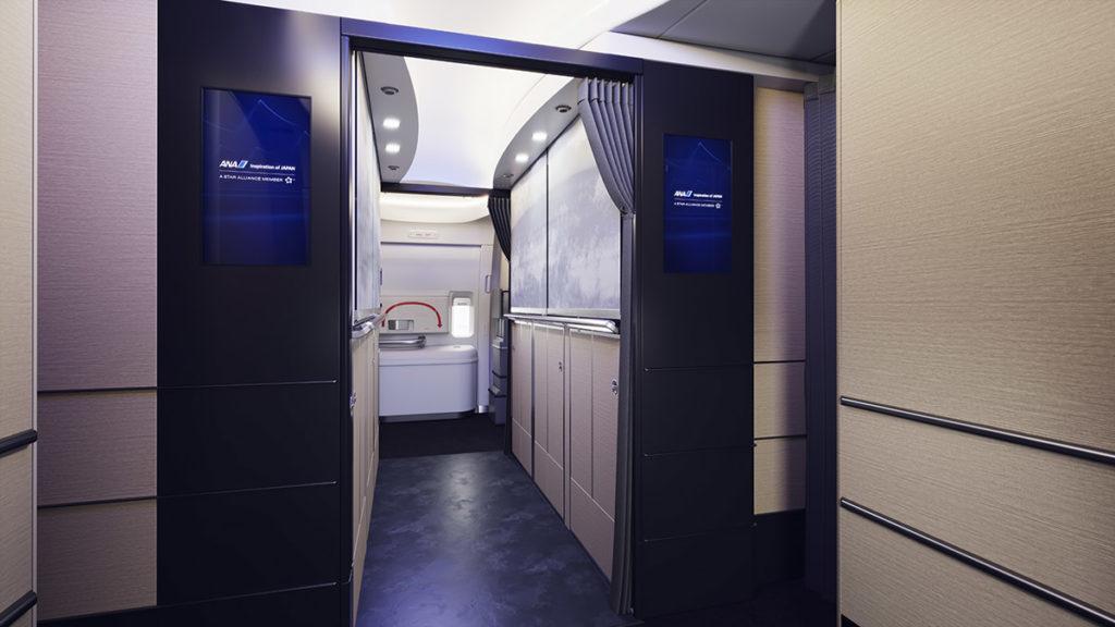 ANA Boeing 777-300ER Velkomstområde