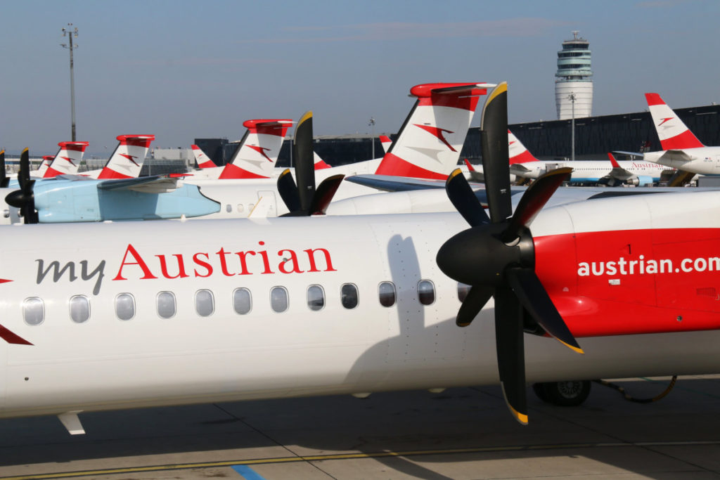 Austrian Airlines Dash 8-400