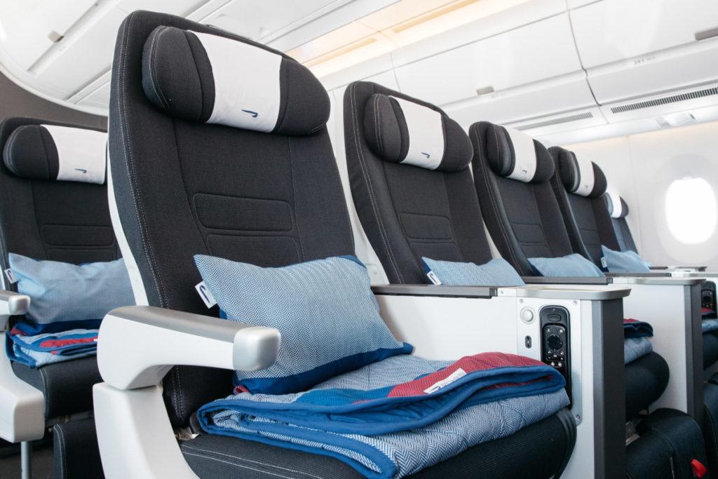 British Airways Airbus A350-1000 World Traveller Plus