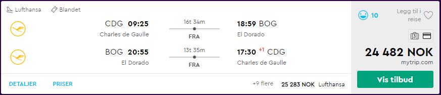 Lufthansa First Class fra 24 482 kroner på momondo.no