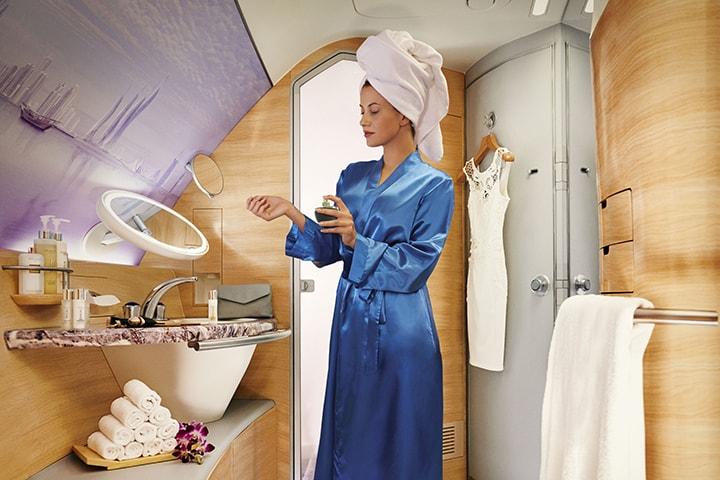 Emirates Airbus A380 spa