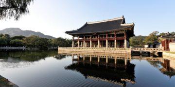 Gyeongbok Palace, Seoul, Sør-korea