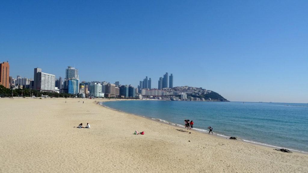 Haeundae Beach, Busan, Sør-Korea