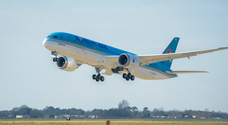 Korean Air Boeing 787-9 Dreamliner