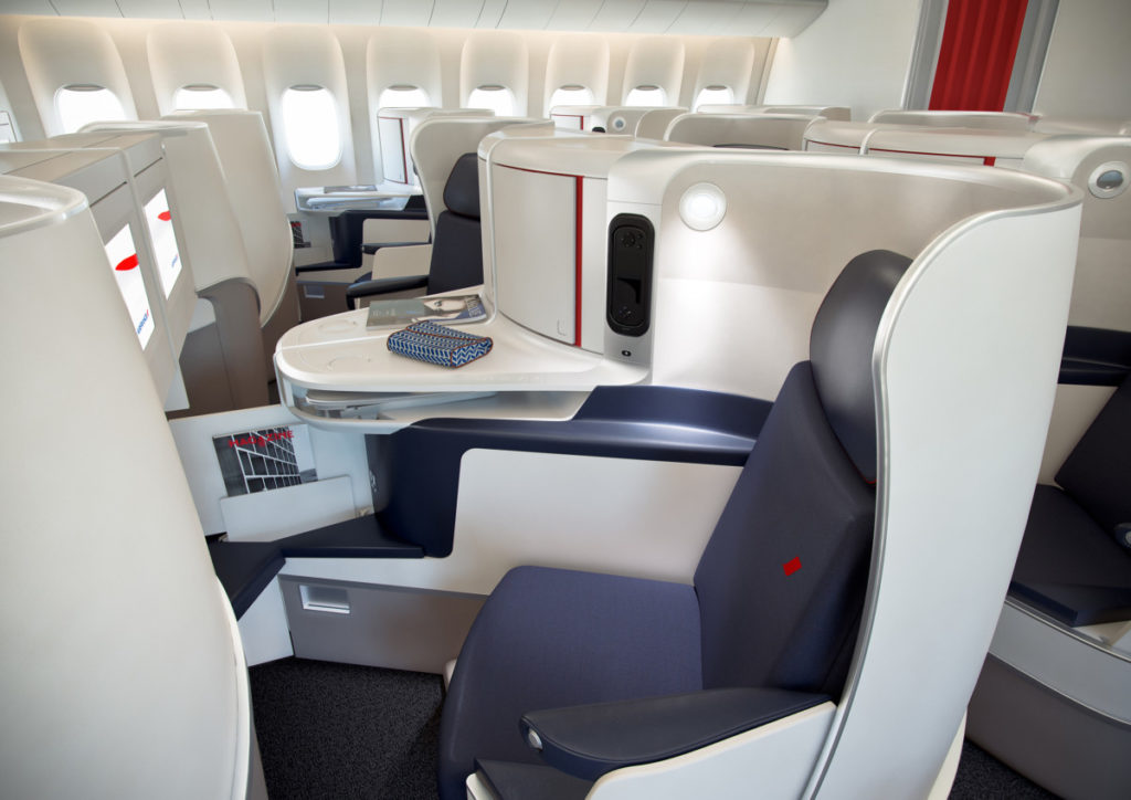 Air France Business Class. Foto: Air France
