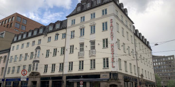 Clarion Collection Hotel Savoy Oslo fasade