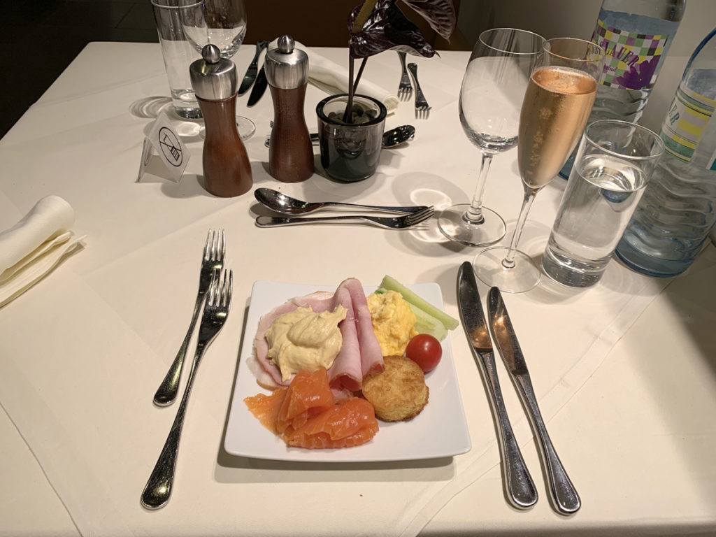 First Class Terminal Dining Frankfurt