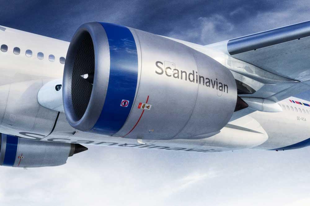 SAS new livery
