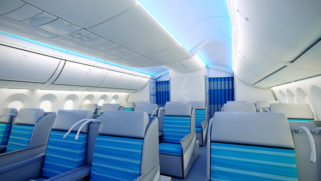 LOT Boeing 787 Dreamliner business class