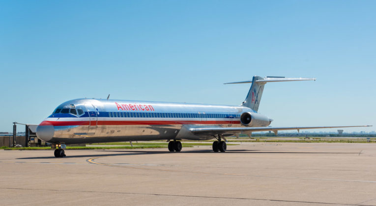 "American Airlines McDonnell Douglas MD-80 ""Super 80"""