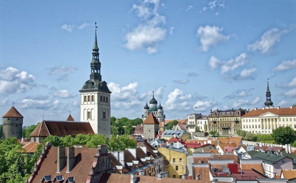 Gamlebyen i Tallinn, Estland