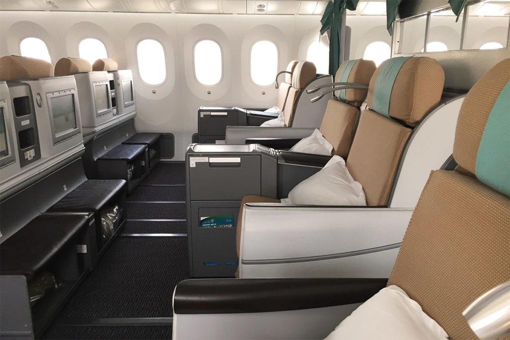 Kenya Airways Boeing 787 Business Class