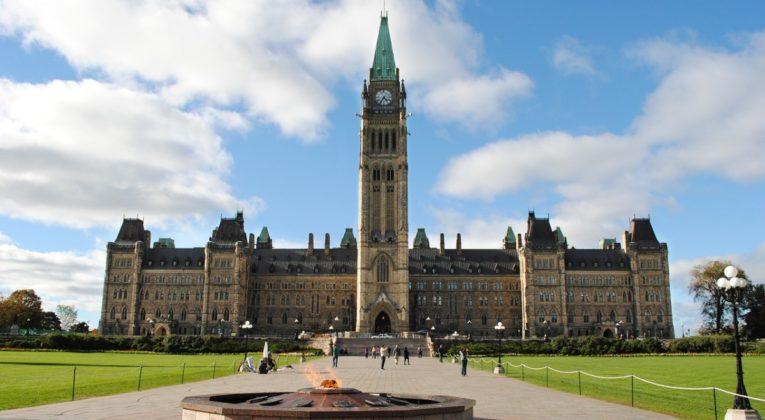 Parlamentsbygningen, Ottawa, Canada