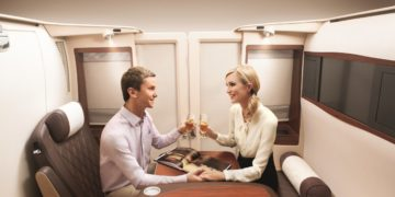Singapore Airlines First Class Suites