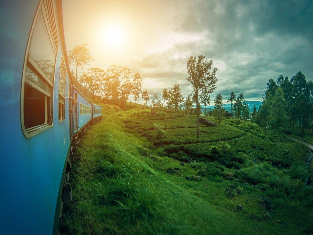 Tog fra Colombo til Elle på Sri Lanka