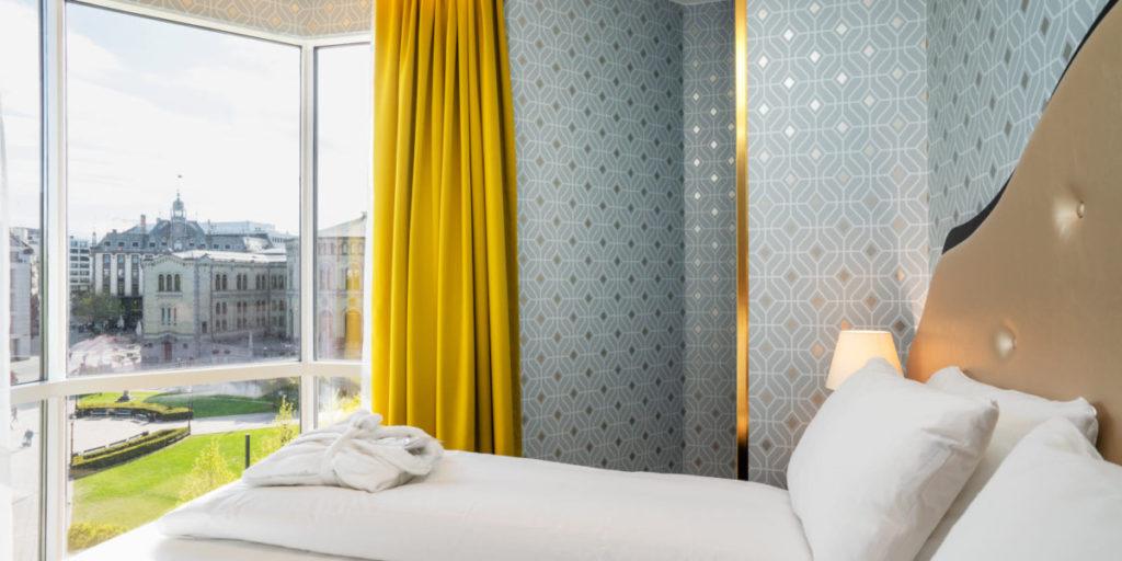 Junior Suite på Thon Hotel Cecil med utsikt over Oslo