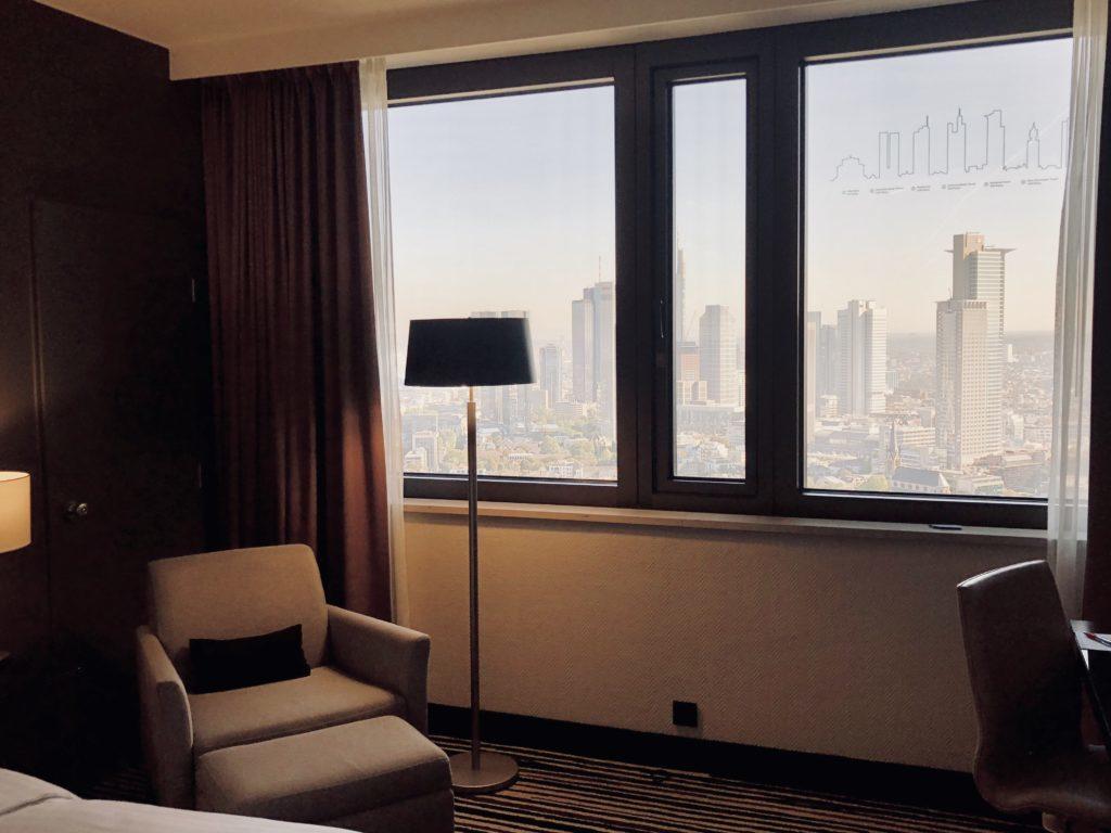 Rom på Hotel Marriott Frankfurt